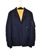 COMME des GARCONS HOMME(コムデギャルソンオム)の古着「3B中綿ジャケット」|ネイビー