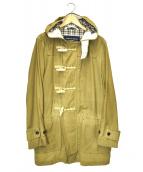 COMME des GARCONS HOMME(コムデギャルソンオム)の古着「オイルドダッフルコート」|ベージュ
