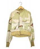 77circa(ナナナナサーカ)の古着「ショートミリタリージャケット」|カーキ