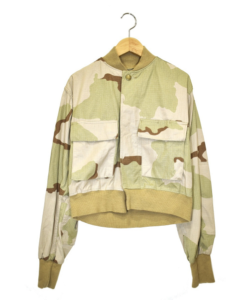 77circa(ナナナナサーカ)77circa (ナナナナサーカ) ショートミリタリージャケット カーキ サイズ:下記参照の古着・服飾アイテム