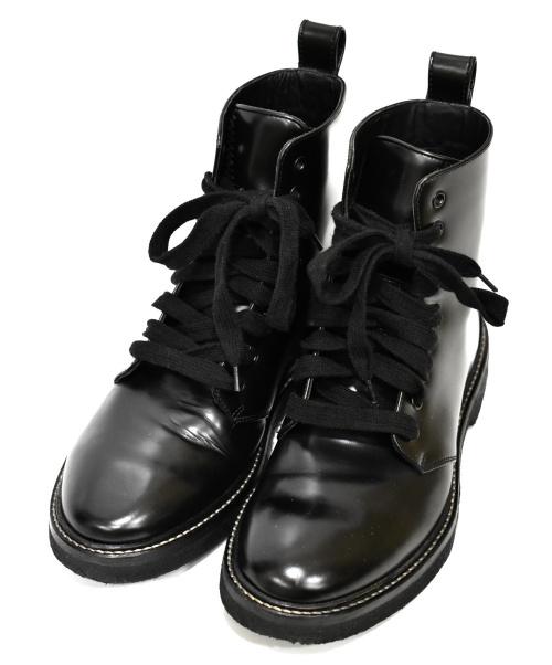 REPRESENT(リプレゼント)REPRESENT (リプレゼント) ワークブーツ ブラック サイズ:7 2018年S/S WORK BOOT Cordovan Leatherの古着・服飾アイテム