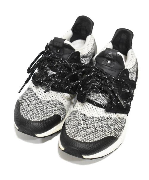 adidas(アディダス)adidas (アディダス) ウルトラブースト グレー サイズ:27cm BY2911 SNEAKERSNSTUFF x SOCIAL STATUSの古着・服飾アイテム