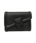 SMYTHSON(スマイソン)の古着「2つ折り財布」 ブラック