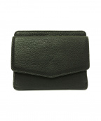 MARGARET HOWELL idea(マーガレット ハウエル アイディア)の古着「2つ折り財布」 グリーン