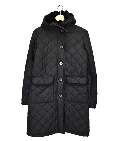 MACKINTOSH(マッキントッシュ)MACKINTOSH (マッキントッシュ) 裏ボアキルティングフーデッドコート ブラック サイズ:36の古着・服飾アイテム