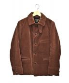 PHIGVEL MAKERS(フィグベルマーカーズ)の古着「コーデュロイジャケット」|ブラウン