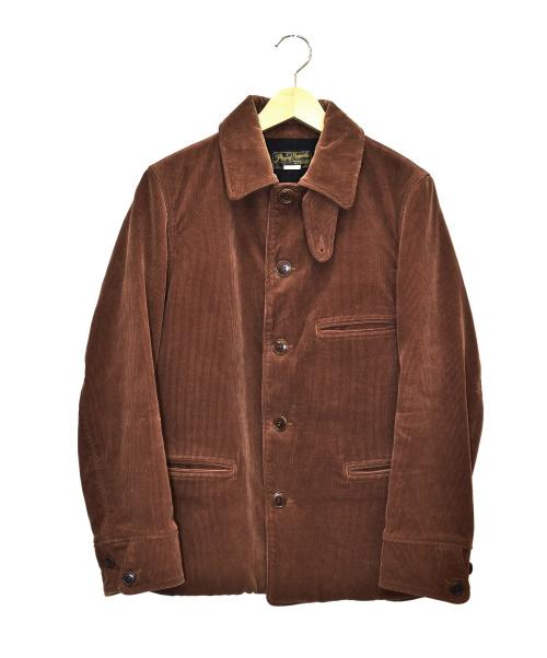PHIGVEL MAKERS(フィグベルマーカーズ)PHIGVEL MAKERS (フィグベルマーカーズ) コーデュロイジャケット ブラウン サイズ:36の古着・服飾アイテム