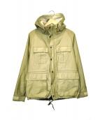 PHIGVEL MAKERS(フィグベルマーカーズ)の古着「裏ボアフーデッドジャケット」|ベージュ