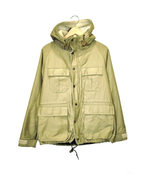 PHIGVEL MAKERS(フィグベルマーカーズ)PHIGVEL MAKERS (フィグベルマーカーズ) 裏ボアフーデッドジャケット ベージュ サイズ:1 06H-0T01の古着・服飾アイテム