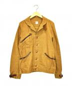MISTER FREEDOM(ミスターフリーダム)の古着「ワークジャケット」 ブラウン