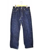 SAMURAI JEANS(サムライジーンズ)の古着「デニムパンツ」|ネイビー