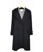 LESTERA(レステラ)の古着「カシミヤコート」 ブラック