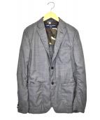 COMME des GARCONS HOMME(コムデギャルソンオム)の古着「3Bジャケット」|グレー