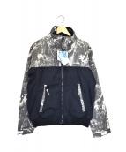 Columbia(コロンビア)の古着「ジップアップフリースジャケット」|ブラック×ベージュ