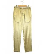 Nobuyuki Matsui(ノブユキマツイ)の古着「Inside Out Trousers」|ブラウン