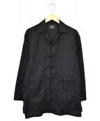 glamb(グラム)の古着「チャイナシャツ」|ブラック