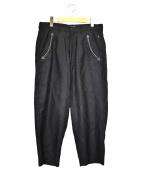 glamb(グラム)の古着「ペイズリーパンツ」|ブラック