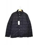 COLE HAAN(コールハーン)の古着「キルティング中綿ジャケット」|ブラック