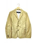 COMME des GARCONS HOMME(コムデギャルソンオム)の古着「3Bジャケット」|ベージュ