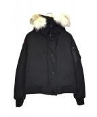 CANADA GOOSE(カナダグース)の古着「ボンバーダウンジャケット」|ブラック