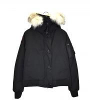 CANADA GOOSE(カナダグース)の古着「ボンバーダウンジャケット」 ブラック