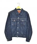 ONI DENIM(オニデニム)の古着「鬼秘デニムジャケット」 ブルー