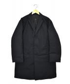DESCENTE PAUSE(デサントポーズ)の古着「ダウンチェスターコート」 ブラック