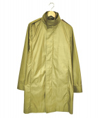 N.HOOLYWOOD(エヌハリウッド)の古着「スタンドカラーコート」|ベージュ