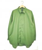 SHINYA KOZUKA(シンヤコズカ)の古着「オーバーサイズシャツ」|カーキ