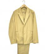 A vontade(アボンタージ)の古着「コットン2Bセットアップ」|ベージュ
