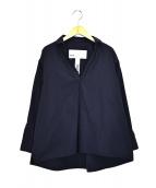 TICCA(ティッカ)の古着「スキッパーシャツ」|ネイビー