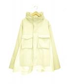 HARE(ハレ)の古着「デザインウールジャケット」|ベージュ