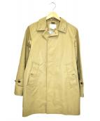 nanamica(ナナミカ)の古着「GORE-TEXコットンステンカラーコート」|ベージュ