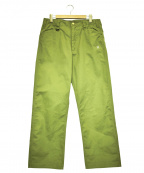 BLUCO WORK GARMENT(ブルコワークガーメント)の古着「ワークパンツ」 グリーン