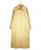 sophila(ソフィラ)の古着「タスランチノステンカラーコート」|ベージュ