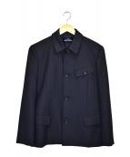 tricot COMME des GARCONS(トリコ コムデギャルソン)の古着「デザインジャケット」 ネイビー