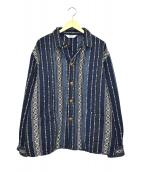 TENDERLOIN(テンダーロイン)の古着「ネイティブジャケット」|ホワイト×ブルー