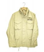 WACKO MARIA(ワコマリア)の古着「M-65ミリタリージャケット」|ベージュ