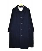 45rpm(フォーティファイブアールピーエム)の古着「コットンステンカラーコート」|ネイビー