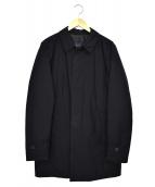 HERNO(ヘルノ)の古着「バルカラーコート」|ブラック