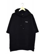 ReZARD(リザード)の古着「S/Sプルオーバーパーカー」|ブラック
