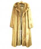 SAGA MINK(サガミンク)の古着「ミンクファーコート」|ベージュ