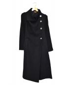 V.W. RED LABEL(ヴィヴィアンウエストウッドレッドレーベル)の古着「オーブ釦デザインコート」|ブラック