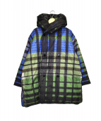 45R(フォーティファイブアール)の古着「ナイロンダウンコート」|グリーン×ブルー