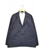 DESCENTE(デサント)の古着「ナイロンジャケット」|グレー