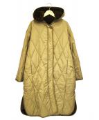 MIDIUMISOLID(ミディウミ ソリッド)の古着「2WAYフーディーコート」|ベージュ
