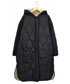 MIDIUMISOLID(ミディウミ ソリッド)の古着「2WAYフーディーコート」|ブラック