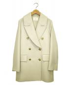 IENA(イエナ)の古着「コリデールWクロスPコート」|グレー