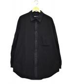 Y-3(ワイスリー)の古着「シャツジャケット」|ブラック