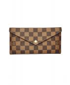 LOUIS VUITTON(ルイヴィトン)の古着「オリガミ長財布」|ブラウン